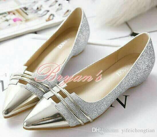 harga Flat princess silver sandal sepatu flat shoes wanita heels boot kets Tokopedia.com