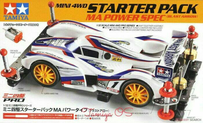 harga Tamiya starter pack ma power spec (blast arrow) item no: 18647 Tokopedia.com