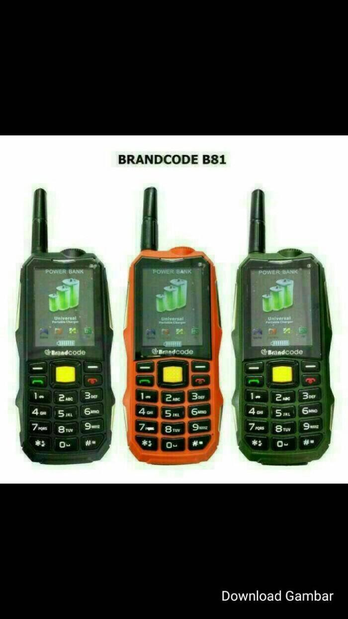 harga Hp brancode b81 (battery 10.000mah)portable charge Tokopedia.com