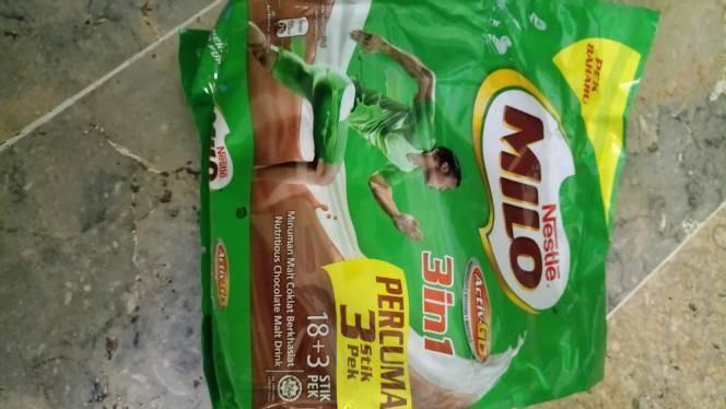 Susu milo malayisa 3in1 sachet