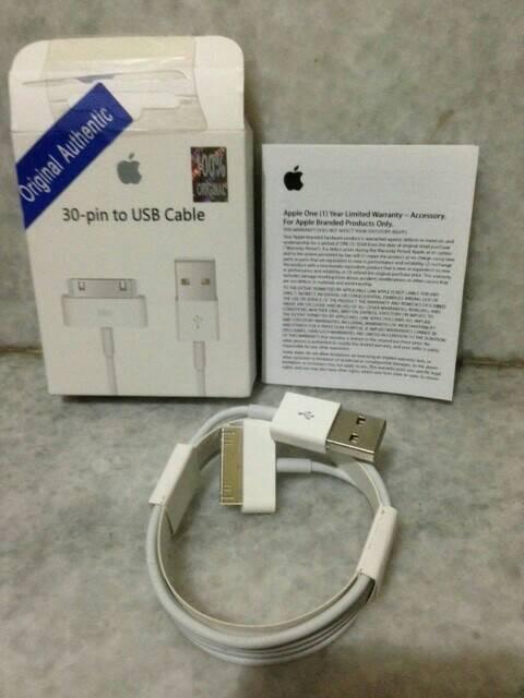 harga Original kabel data charger iphone ipad ipod 1 2 3 3g 4 4s nano touch Tokopedia.com