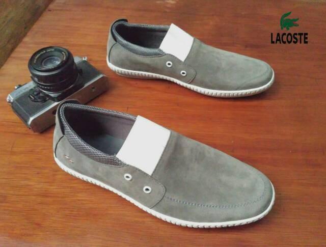 harga Sepatu casual pria lacoste otus slip on Tokopedia.com