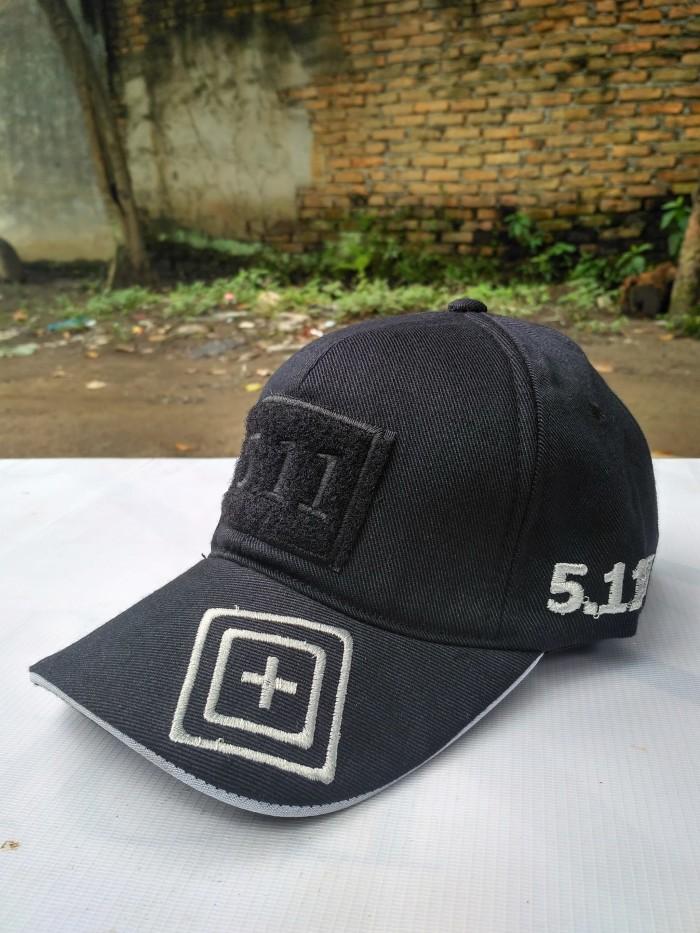 Topi 511 (5.11) import   import   topi velcro army black harga ... abcd4bbb66