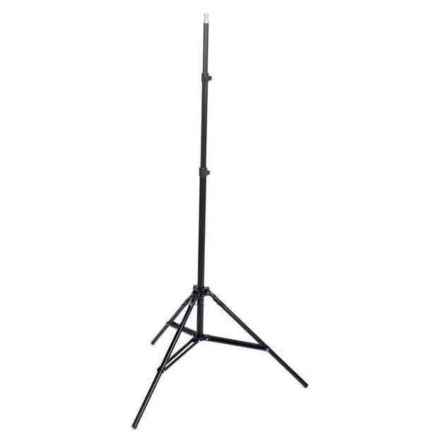 harga Portable light stand tripod 180cm for studio lightning - w803 - hitam Tokopedia.com