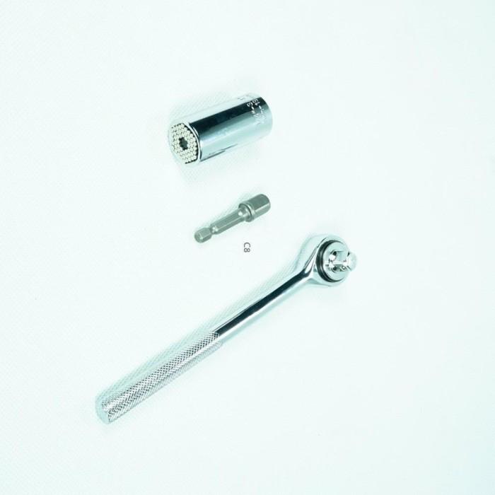 harga Kunci sock universal socket gator grip kunci inggris stainless steel Tokopedia.com