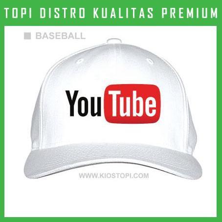 Topi youtube 6 trucker baseball snapback ytb06 distro harga ... f1ee62d6ff