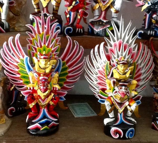 harga Patung garuda wisnu kencana kayu abesia warna warni handmade 45cm Tokopedia.com