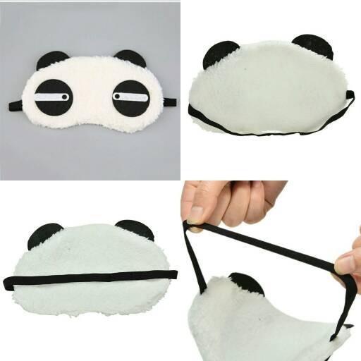 harga Penutup mata panda/tutup mata untuk tidur/kacamata tidur Tokopedia.com