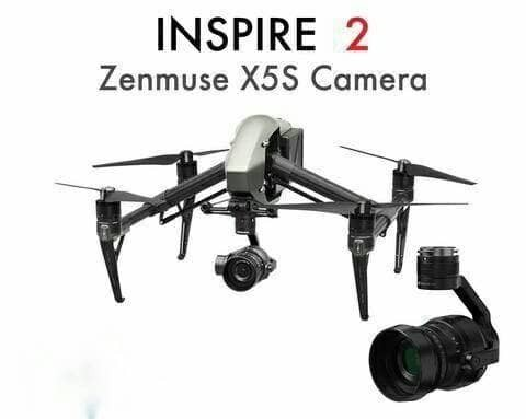 DJI INSPIRE 2 QUADCOPTER KIT WITH ZE