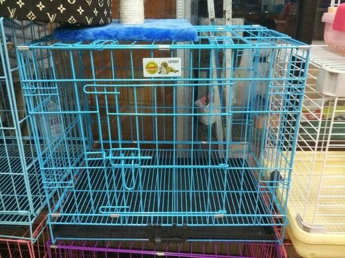 harga Kandang octagon medium - kandang kucing / anjing / kelinci / musang Tokopedia.com