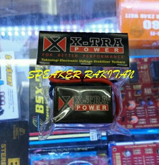 X-Tra power stabilizer Voltage aki/acu motor GT RACING SPORT(ukuran S)