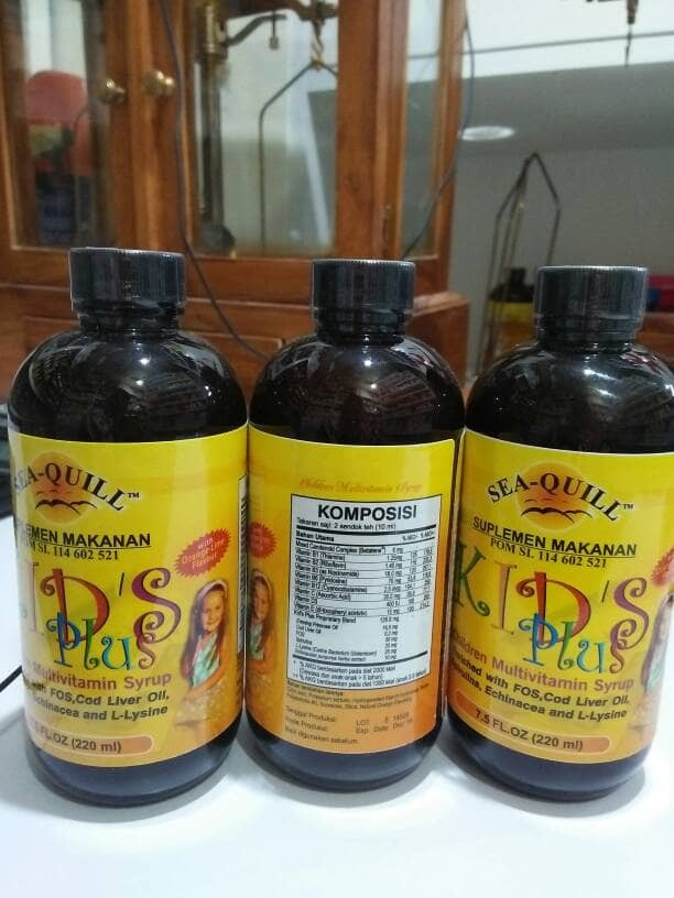 Sea quill KIDS Plus syrup 220 ml