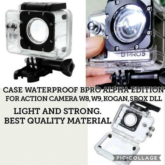 harga Haosing waterproof case kamera kogan w8 w9 sbox bpro ae 4k double lock Tokopedia.com