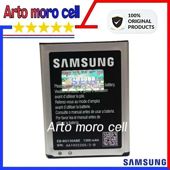 Baterai Samsung Galaxy Young 2 G130H 1300mAh ORIGINAL 100% SEIN