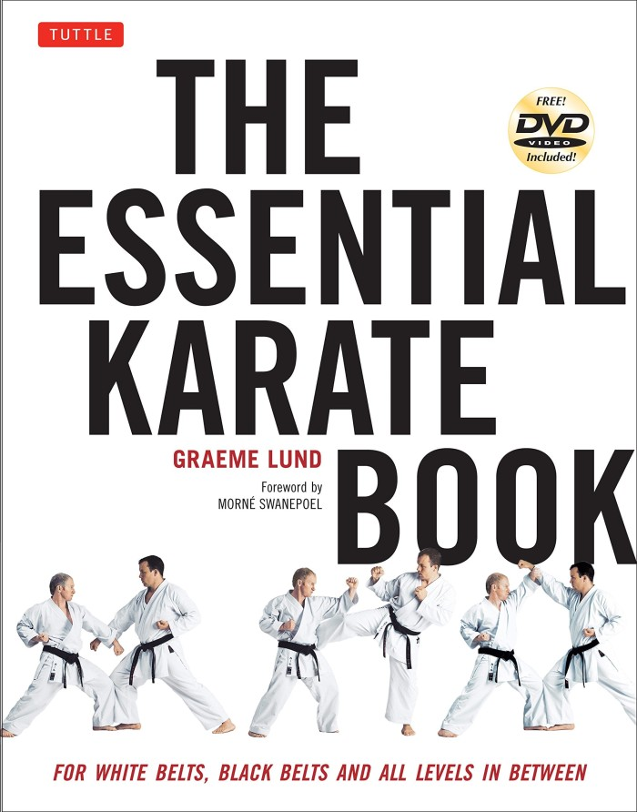harga The essential karate book: for white belt & all levels [dvd included] Tokopedia.com