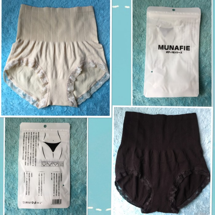 MUNAFIE Slim Pant TIPIS BAGUS (Slim Lace Pants / Celana Korset Renda)