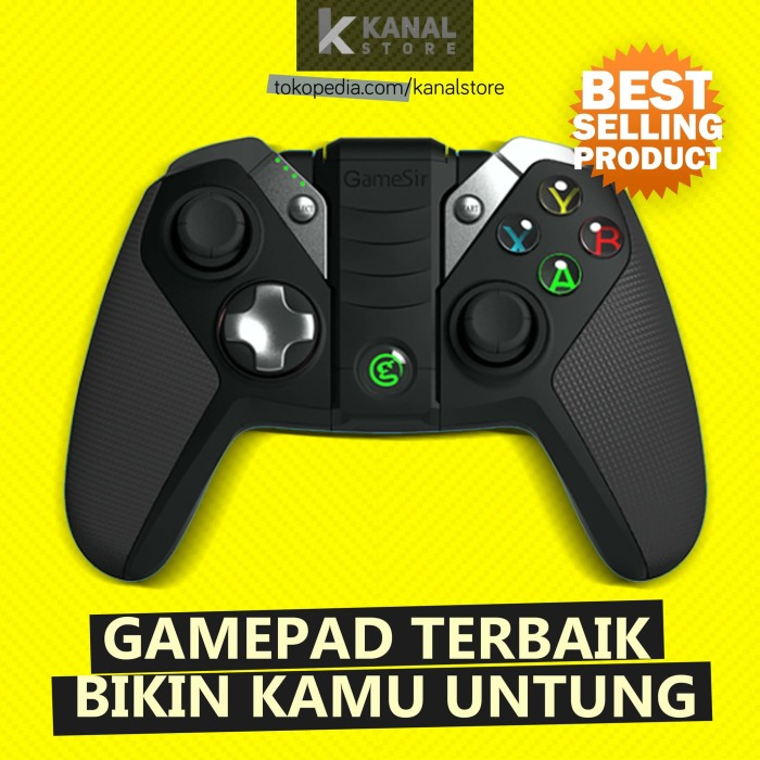 harga Stik Gamepad Wireless Gamesir G4s For Android, Ps3, Game Pc, & Vr Box Tokopedia.com