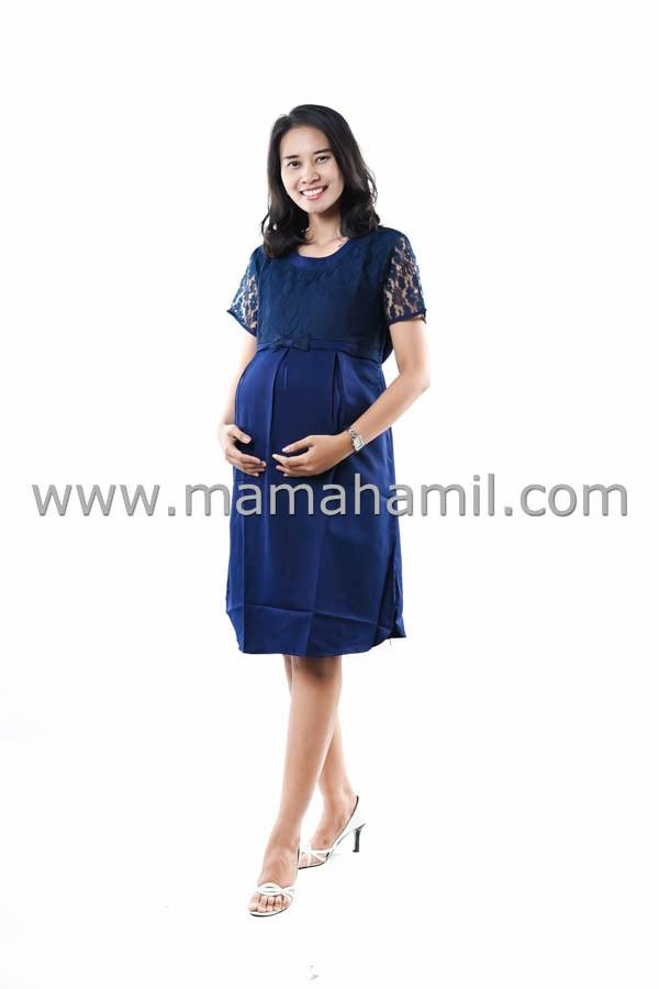 harga Baju hamil dress menyusui brokat pesta pita atas - dro 794 Tokopedia.com