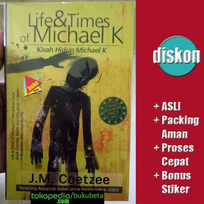 harga Life & times of michael k - j m coetzee Tokopedia.com