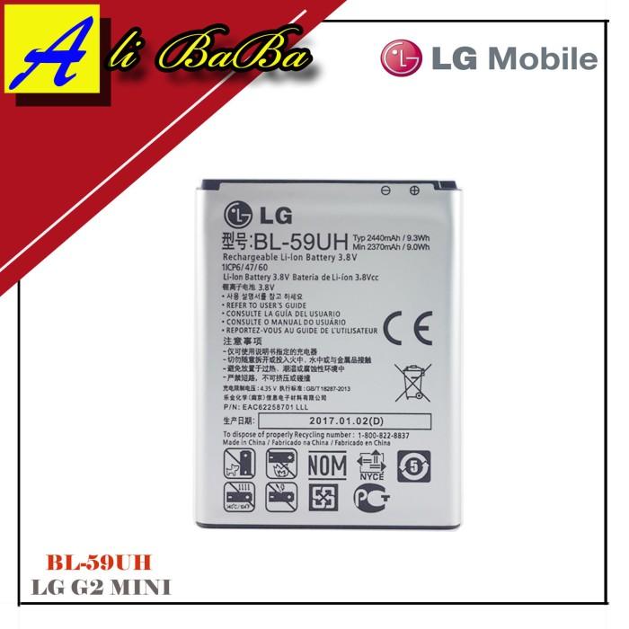 harga Baterai handphone lg bl-59uh lg g2 mini d620 d620r batre hp battery lg Tokopedia.com