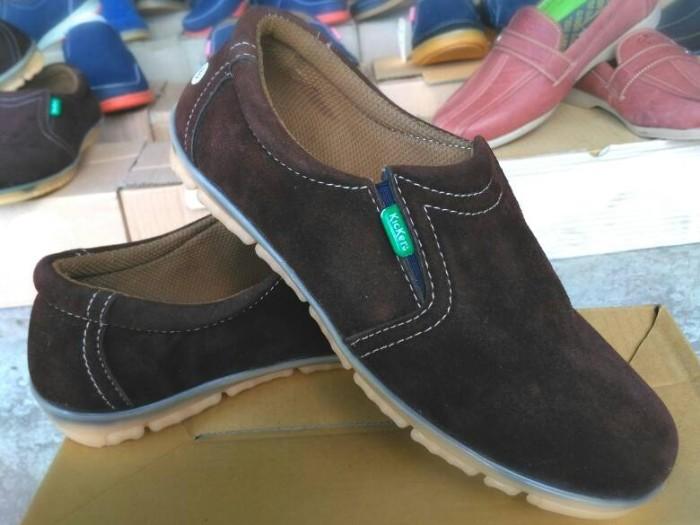 harga Sepatu casual kickers pria kulit asli Tokopedia.com