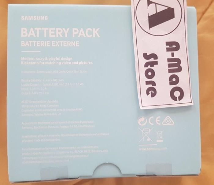 Power Bank Samsung 5100 Kettle Design Battery Pack Powerbank - Blue