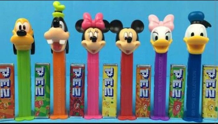harga Pez Disney Mickey Mouse Donald Duck Goofy Candy Dispenser Permen Tokopedia.com
