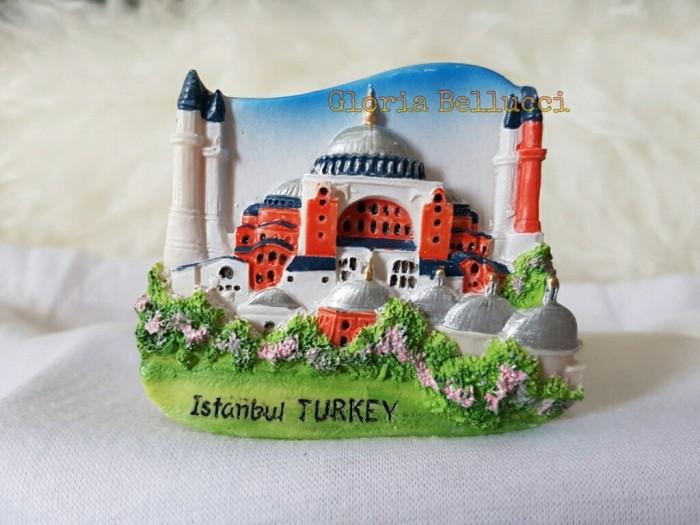 harga Souvenir tempelan magnet kulkas istanbul turkiye turkey Tokopedia.com