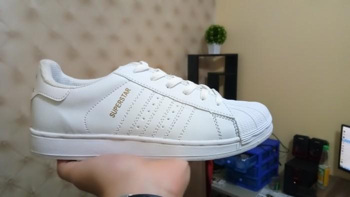 Jual Sepatu Adidas Superstar Putih List Putih Full Putih Pria Wanita ... 4bc13cab67