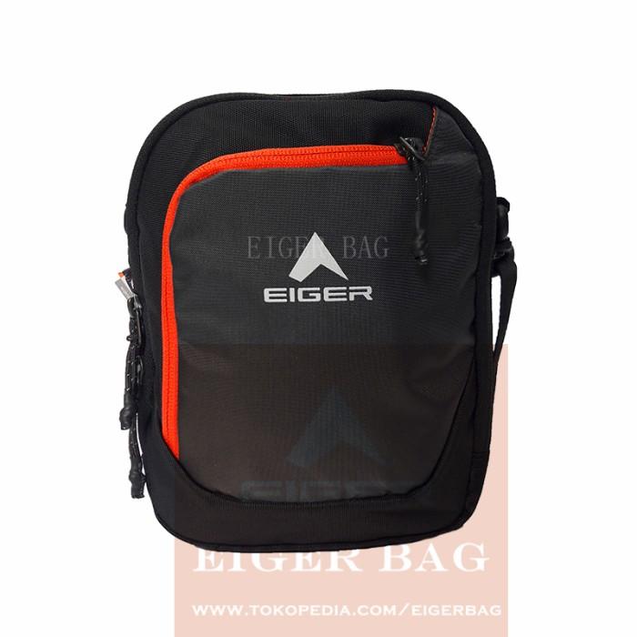 Tas Selempang Eger 7329 BLACK / Outdoor / Gunung / Backpack / Sekolah