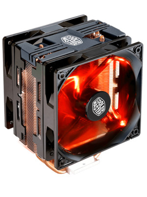 Foto Produk Cooler Master Hyper 212 LED TURBO - Black Cover DUAL FAN dari toko expert komputer