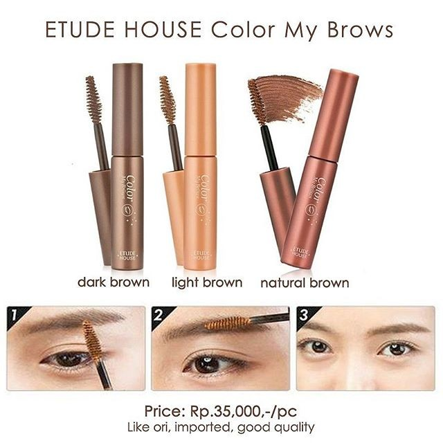 Etude house color my brow mascara alis