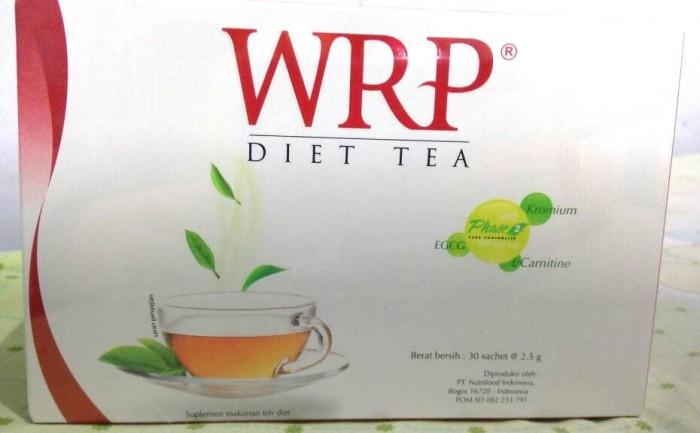 harga Wrp diet tea 30 sachet Tokopedia.com