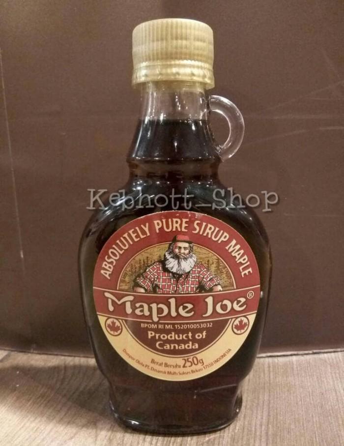 harga Maple joe absolutely pure syrup sirup maple 250gr Tokopedia.com