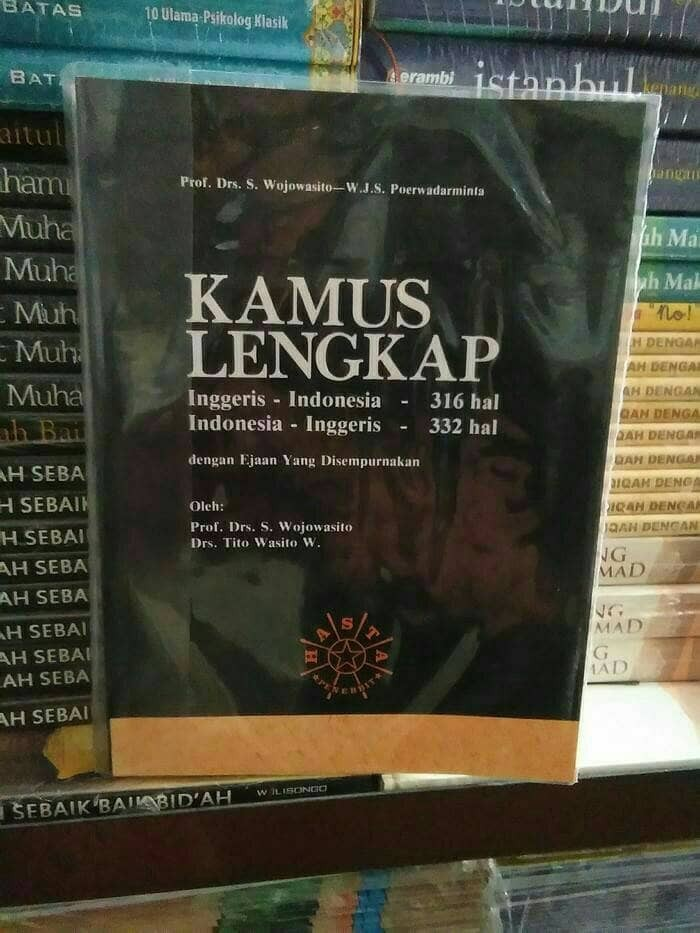 harga Kamus lengkap inggris - indonesia by wojowasito Tokopedia.com