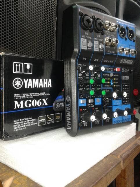 harga Mixer audio yamaha mg06x baru murah discon Tokopedia.com