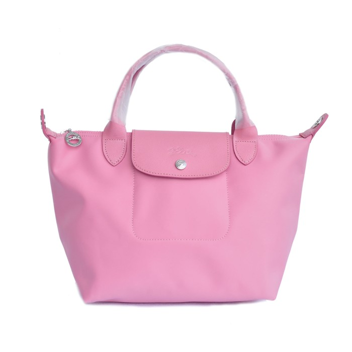 Tas wanita authentic longchamp le pliage neo small - rose pink 862357eed6
