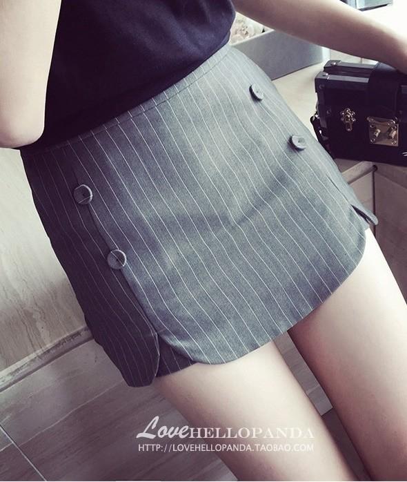 Celana Rok Pendek Fashion Wanita Pants Skirt Trendy Import