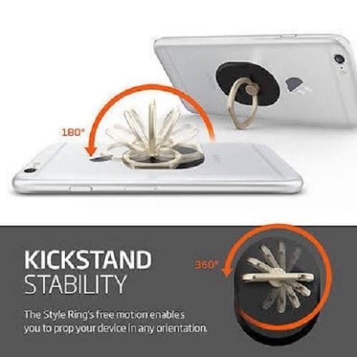 Ring Stand - 5pcs - Logo G-smart Holder Handphone Free Hook Mount