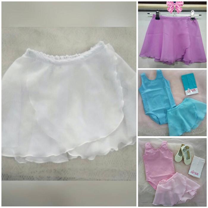 harga Rok ballet/ chiffon skirt anak/baju ballet Tokopedia.com