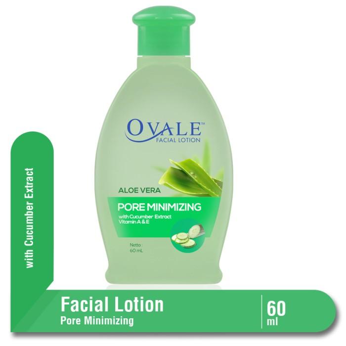 ovale facial lotion pore minimizing botol 100 ml