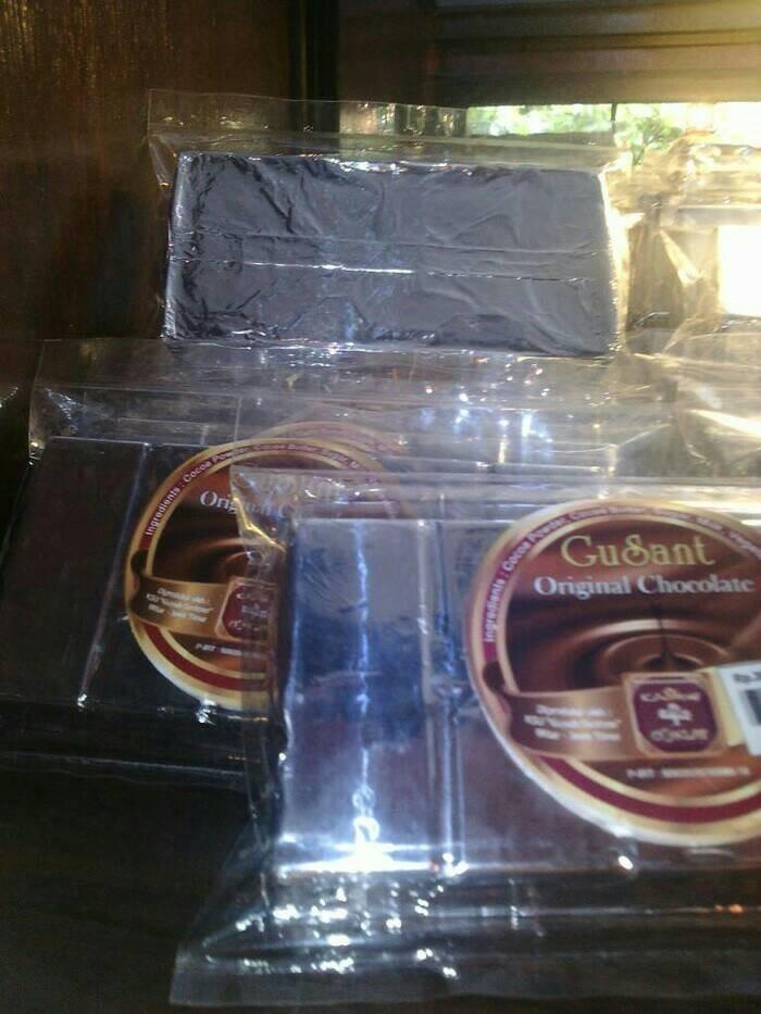 coklat blok gusant original chocolate