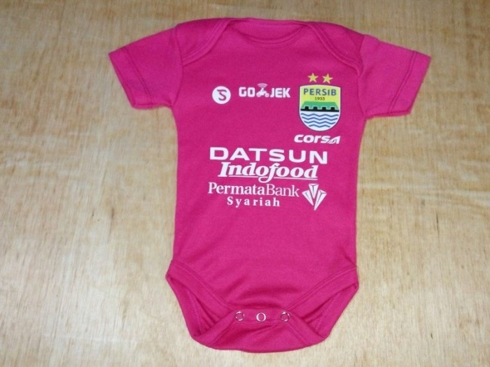harga Baju Bola Bayi/baby Romper/baby Jumper Persib Bandung Pink Tokopedia.com