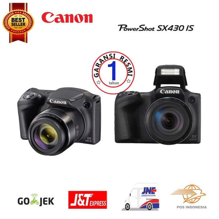 harga Canon powershot sx430 is wi-fi promo - hitam Tokopedia.com