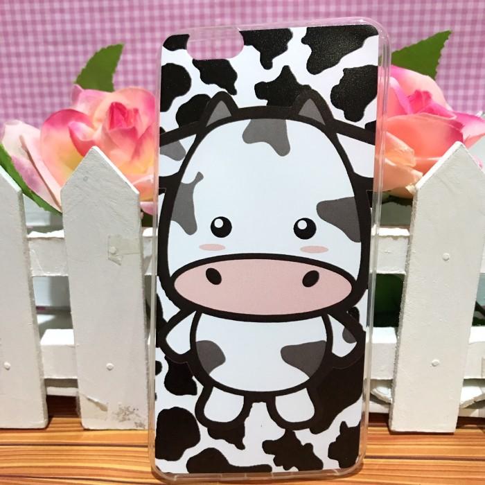 harga Oppo f1s - softcase casing custom case cover print motif sapi cow milk Tokopedia.com