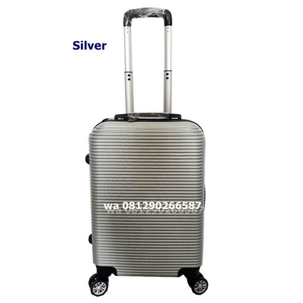 harga Koper Polo Maple Abs  Fiber Hardcase B35 Silver 20 Inch Tas Travel Tokopedia.com
