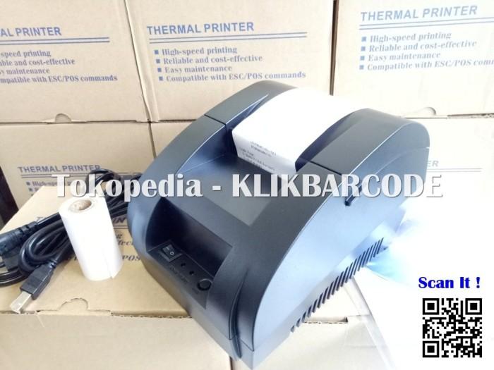 harga Printer kasir / pos thermal 58mm - usb - murah Tokopedia.com