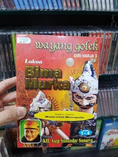 harga Vcd wayang golek lakon : bima murka  dalang: kh. asep sunandar Tokopedia.com