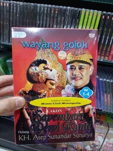 harga Vcd wayang golek lakon : sayembara dewi kunti Tokopedia.com