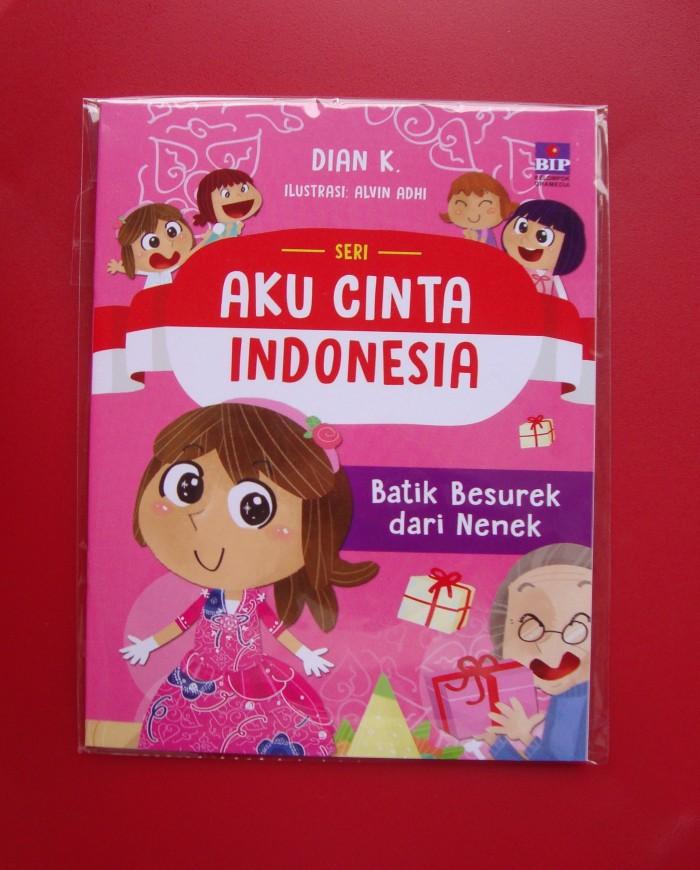 harga Seri aku cinta indonesia : batik besurek dari nenek Tokopedia.com